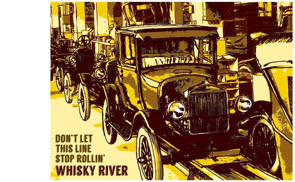 """Don't Let This Line Stop Rollin'"" – Whisky River"