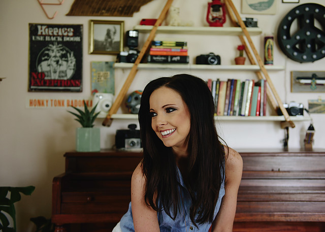 "Brittany McLamb, Deanie Richardson Cover ""Blue KentuckyGirl"""